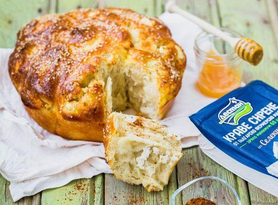 Питка с квас и сирене